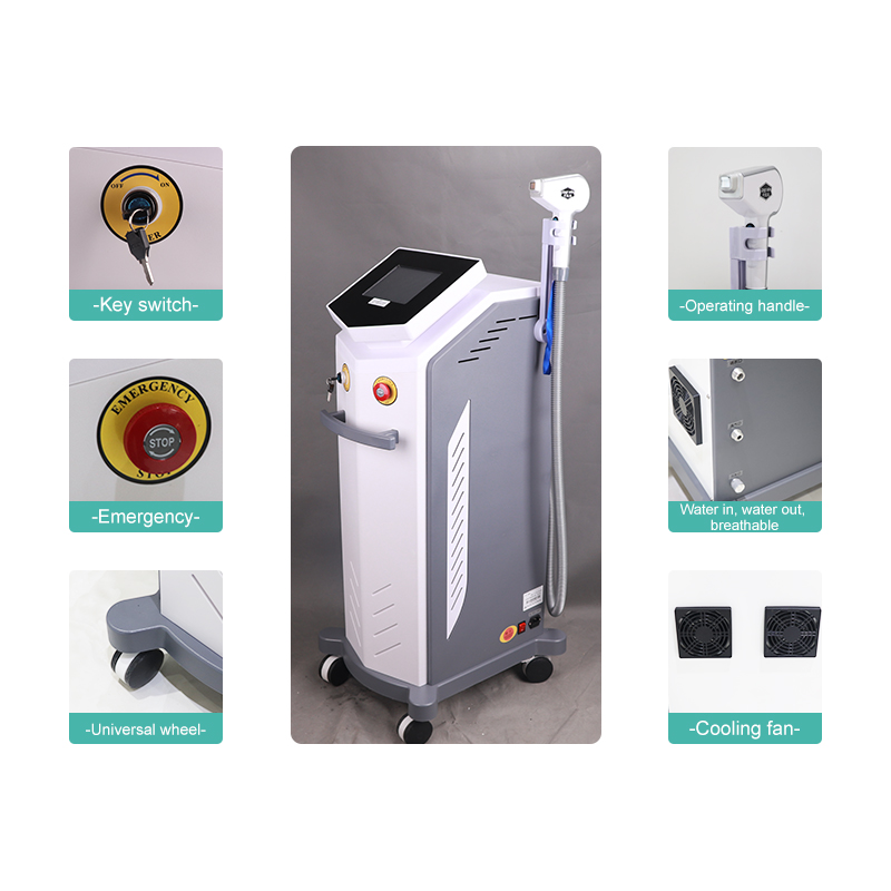 Low price 808nm diode laser hair removal machine